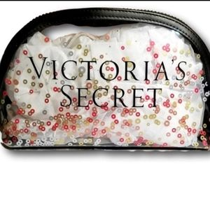 VS Victoria's secret makeup bag